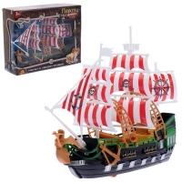 Набор пиратов Пираты черного моря, работает от заводного механизма