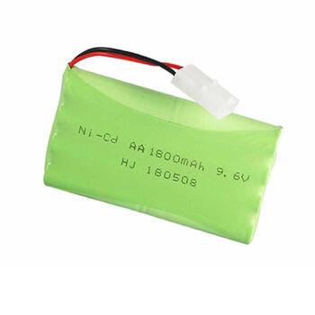 Аккумулятор Ni-Cd AA 9.6v 1800mah форма Column-Row разъем Tamiya