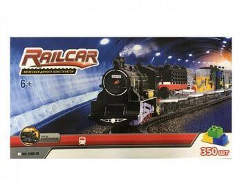 Железная дорога HQ1608-1A 350 деталей, с локомотивом на батарейках