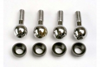 Pivot balls (4)/ pivot ball cap bushings (4)