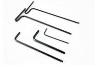 Набор шестигранников Hex wrenches; 1.5mm, 2mm, 2.5mm, 3mm, 2.5 ball