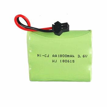 Аккумулятор Ni-Cd 3.6v 1800mah форма Flatpack разъем YP