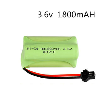 Аккумулятор Ni-Cd AA 3.6v 1800mah форма Offset разъем YP