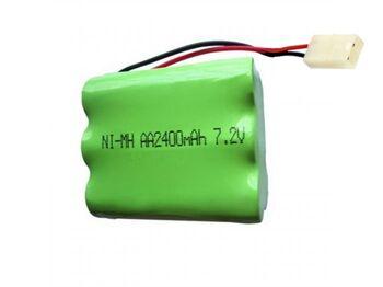 Аккумулятор Ni-Mh AA 7.2v 2400mah форма Row разъем TAMIYA