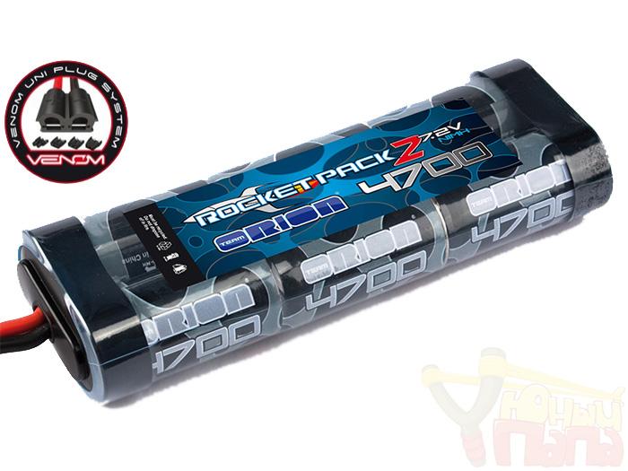 Аккумулятор Team ORION NIMH 7.2В емкостью 4700мАч (разъем Tamiya, Deans, TRX, EC3 Venom Plug)