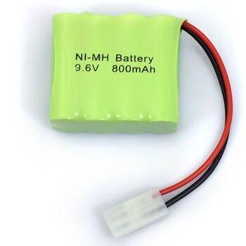 Аккумулятор Ni-Mh 9.6v 800mah форма Row разъем Tamiya