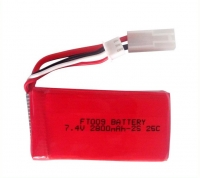 Аккумулятор Li-Po 7.4v 2800mah формат 953472 разъем EL