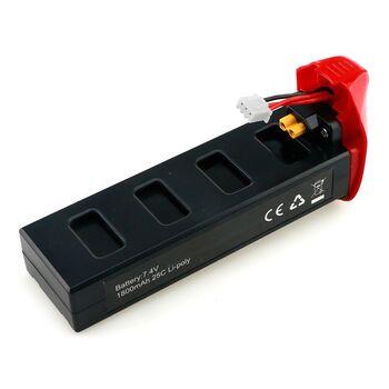 Аккумулятор MJX Li-Po 7.4V 1800 mAh 25C Red - B2W012