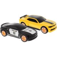 Радиоуправляемый бой машин Ford Mustang Police vs Chevrolet Camaro 1:18 (23 см)