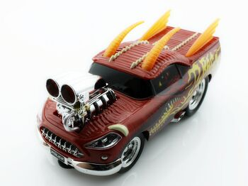 Радиоуправляемая машина Дракон 8127 из серии Muscle Car с гоночным Мотором 1/16 свет и звук