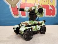 Танк-робот MX RoboMaster (3D дрифт, стреляет гелевыми пулями) green
