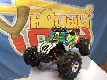 Радиоуправляемый шорт-корс амфибия Feilun The Brave 4WD 2.4G 1/12 RTR