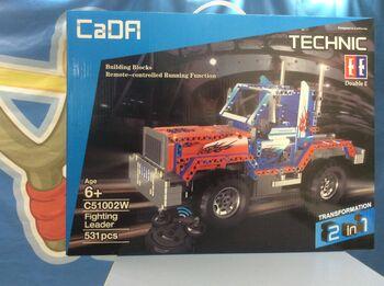 Радиоуправляемый конструктор CaDA TECHNIC C51002W Грузовик 2.4G