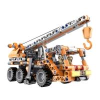 Конструктор Cada Technics строительный кран c инерционным механизмом, 272 детали - C52013W