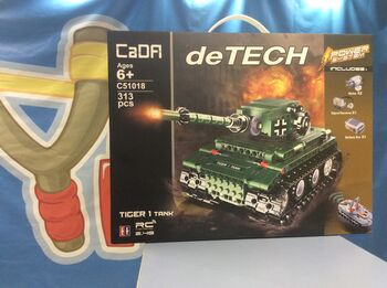 Радиоуправляемый конструктор CaDA TECHNIC C51018W Танк Tiger 2.4G