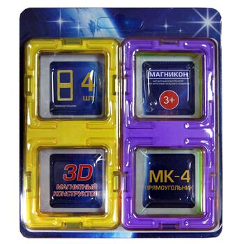 Набор элементов прямоугольники МАГНИКОН МК-4-ПР