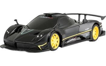 Машина Rastar 38010 Pagani Zonda R 1:24 цвет чёрный 27MHZ
