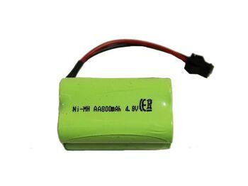 Аккумулятор Ni-Mh AA 4.8v 800mah форма Row разъем YP