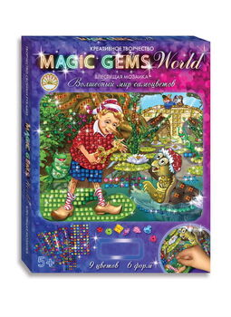 Мозаика Magic Gems Буратино