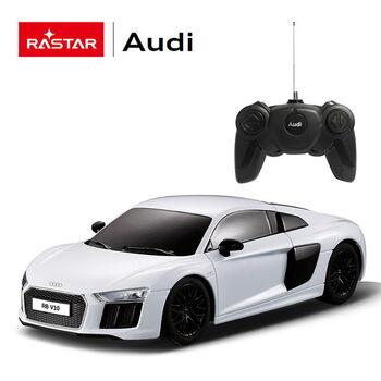 Радиоуправляемая машина Rastar 72300 AUDI R8 2015 Version 1:24 Цвет Белый
