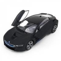 Радиоуправляемая машина Rastar BMW i8 Black 1:14 с открывающимися дверями - 71010-B