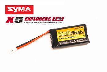 Аккумулятор Black MagicLiPo 3,7В(1S) 700mAh 35C Soft Case JST-Molex plug