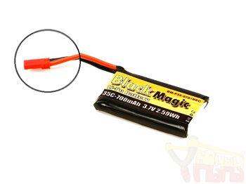 Аккумулятор Black Magic LiPo 3.7V 700mAh 35C (JST-BEC plug)
