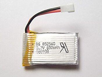 Аккумулятор Li-Po 3.7v 650mah формат 852540 разъем Molex