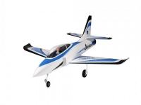 Радиоуправляемый самолет Top RC Jet Star голубой 800 мм импеллер 65мм PNP