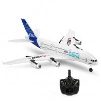 Радиоуправляемый самолет XK Innovation A120 Airbus A380 2.4G гироскоп, стабилизация движения