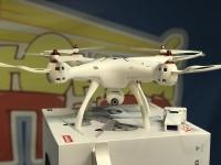 Квадрокоптер Syma X8SW-D с FPV трансляцией Wi-Fi, барометр 2.4G RTF