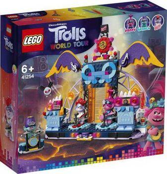 Конструктор LEGO Trolls Концерт в городе Рок-на-Вулкане