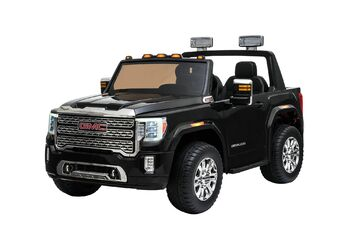 Электромобиль GMC Sierra Denali 4WD 12V - BLACK - HL368