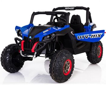 Двухместный полноприводный электромобиль Blue UTV-MX Buggy 12V 2.4G - XMX603-BLUE
