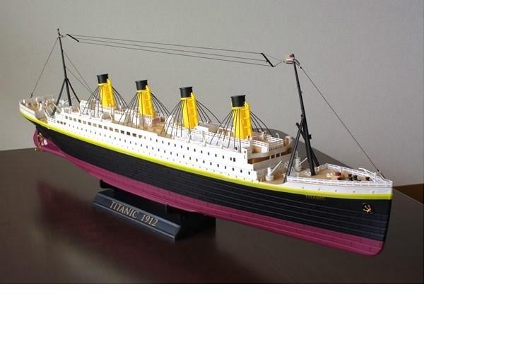 Корабль радиоуправляемый Титаник Heng Tai 757T-4020