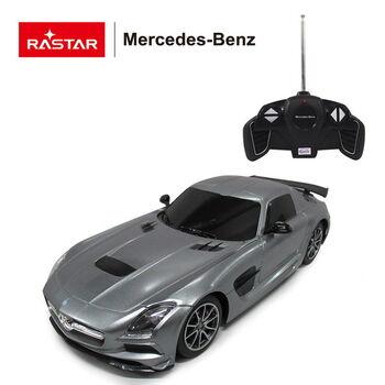 Машина Rastar 54100 Mercedes-Benz SLS AMG 1:18 Цвет Серебряный
