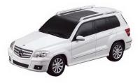 Радиоуправляемая машина 1:24 Mercedes GLK, 20х7,6х8,1см, цвет белый 40MHZ