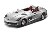 Радиоуправляемая машина 1:12 Mercedes-Benz SLR, цвет серебряный 40MHZ