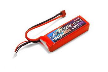 Аккумулятор LiPo 1900mAh 30C 11.1V 3S (Deans T Plug)