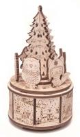 Сборная музыкальная шкатулка Wood Trick Рождественский танец