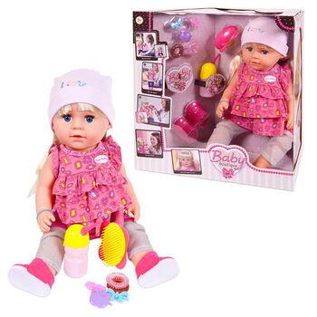 Кукла-пупс Baby boutique, 45см, пьет и писает, в наборе с аксессуарами