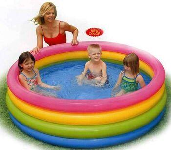 Бассейн надувной детский Sunset Glow Pool 168х46 см (от 3-х лет)