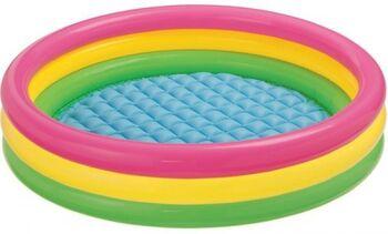 Бассейн надувной детский Sunset Glow Baby Pool 86х25см (до 3-х лет)