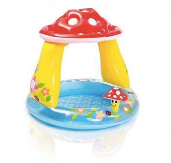 Бассейн надувной детский Mushroom Baby Pool (Грибок), (1-3 года), 102х89см