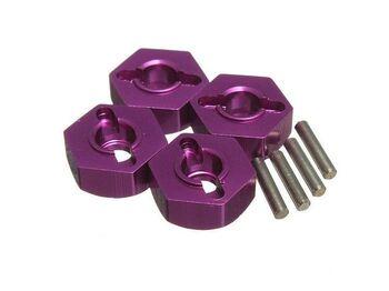 Алюминиевые колёсные шестигранники 4 шт.