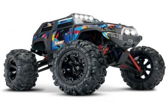 Радиоуправляемая машина Traxxas Summit 1:16 4WD + LED светотехника