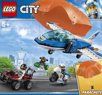 Конструктор LEGO CITY Police Воздушная полиция: арест парашютиста