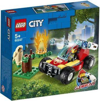 Конструктор LEGO CITY Fire Лесные пожарные