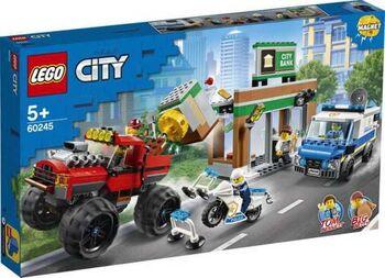 Конструктор LEGO CITY Police Ограбление полицейского монстр-трака