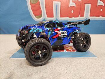 Радиоуправляемая трагги Remo Hobby S EVO-R UPGRADE 4WD 2.4G 1/16 RTR синий
